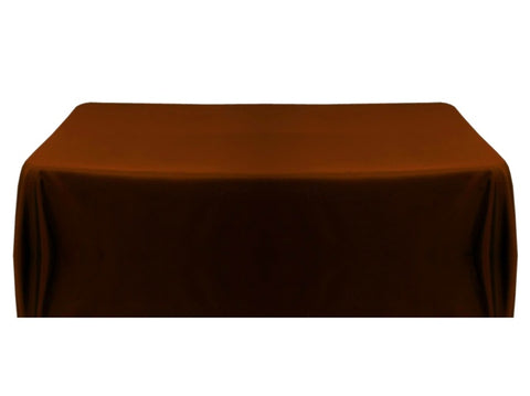 8' Table Throw 4-sided - Chocolate
