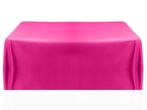 8' Table Throw 4-sided - Fuchsia