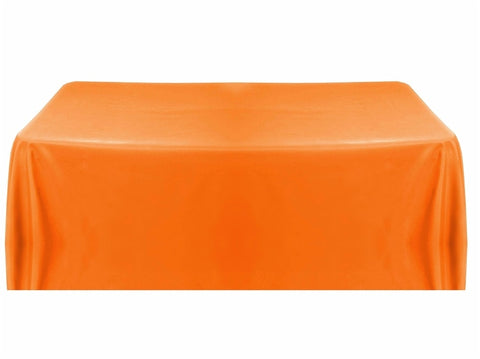 8' Table Throw 4-sided - Orange