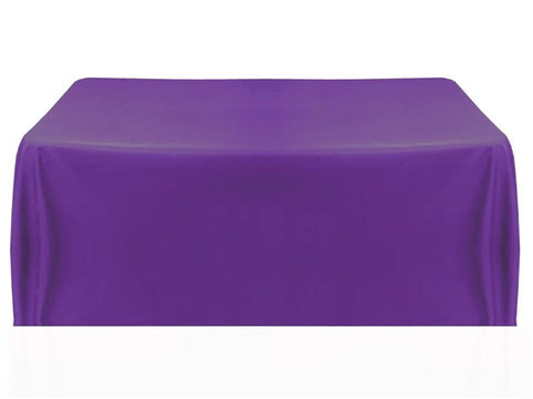 8' Table Throw 4-sided - Purple