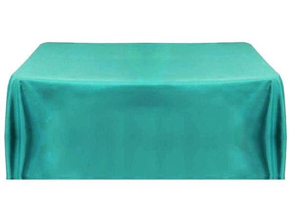 8' Table Throw 4-sided - Turquoise