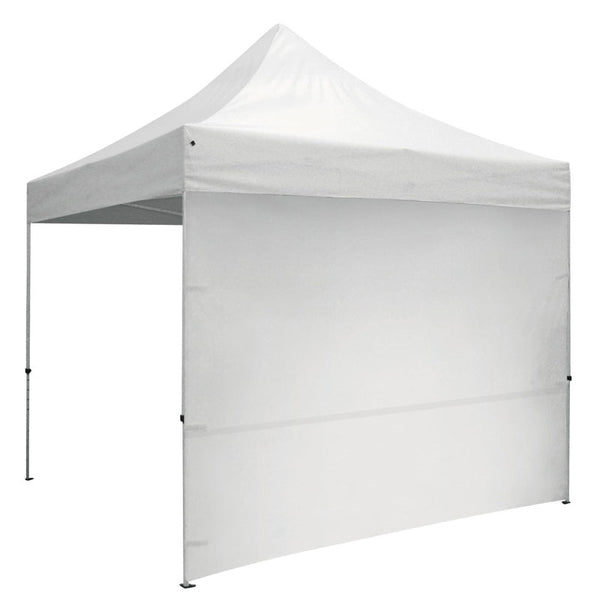 10' Tent White Full Wall w/Zipper Ends -