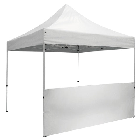 Tent Half Wall White