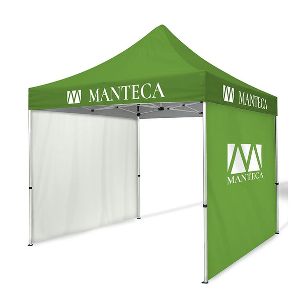 10ft Dye-Sublimation Tent Package with Two Full Walls