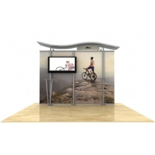 10ft Timberline Monitor Display w/ Wave Top