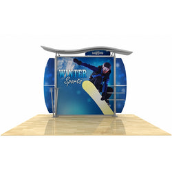 10ft Timberline w/ Wave Top, Dye-Sub Center Graphic, Metal Fusion Curved wings