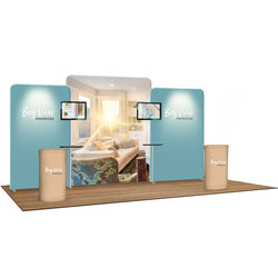 Wave Tube® Modular™ Booth Kit B1D2B1