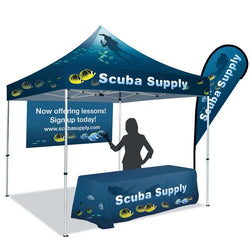 10ft Dye-Sublimation Tent Package