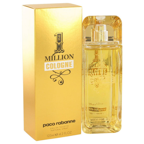 1 Million Cologne By Paco Rabanne Eau De Toilette Spray 4.2 Oz