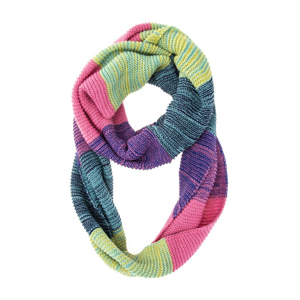 Vibrant Pink Infinity Scarf