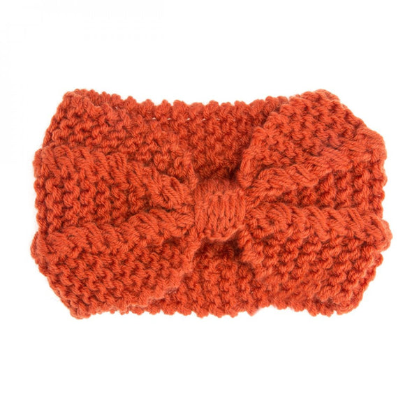 Lulu Orange Headwrap