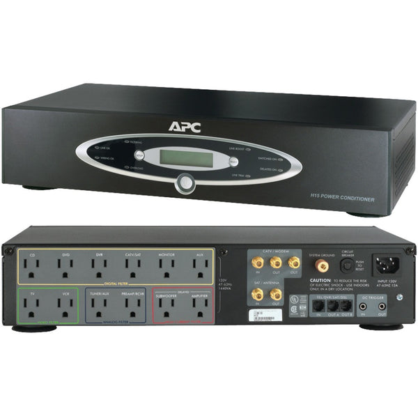 Apc 12-outlet H-type Rack-mountable Power Conditioner