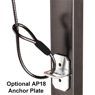 UCL932 Universal Cable Lock, Black Cable