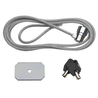 UCL932 Universal Cable Lock, Clear Cable