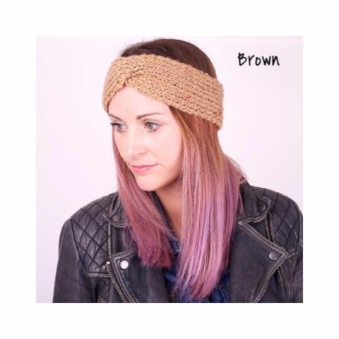 Headband- handmade knitted headband