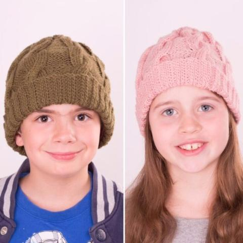Vegan Friendly Wool Mini Boston Rose Customisable Beanie