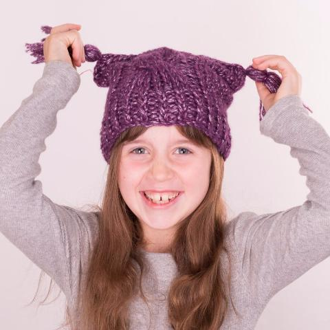 Vegan Friendly Wool Primrose Princess Beanie Hat