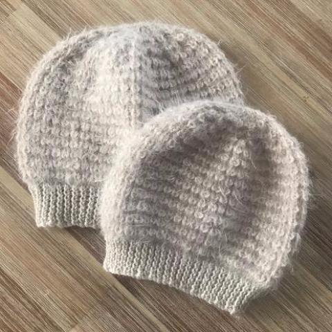Vegan Friendly Wool Paris Starr Hat Matching Set