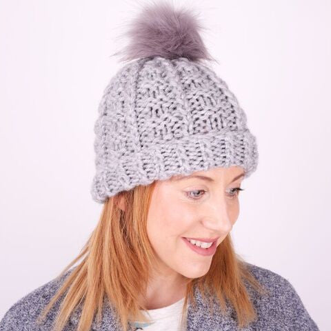 Vegan Friendly Wool Dakota Blu Customisable Beanie
