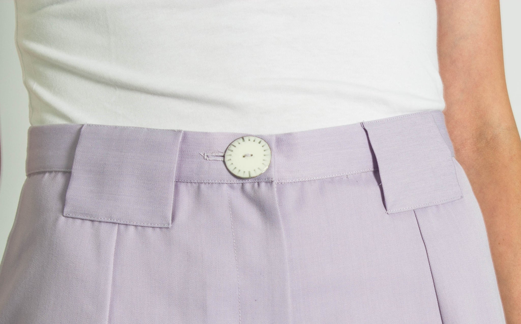 Lilac Tailored Shorts