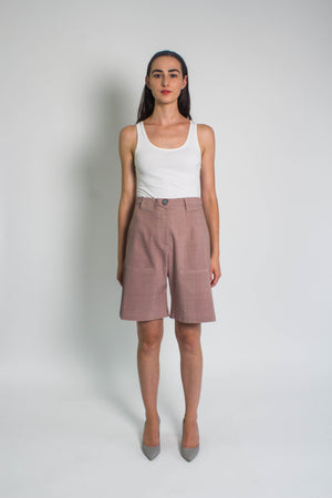 Heather Tailored Shorts