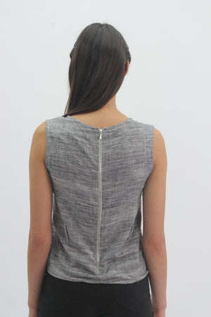 Grey Speckled Tunic