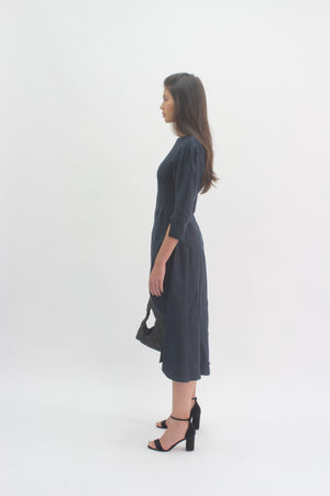 Navy Ghalia Dress