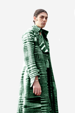 Green Veinity Coat