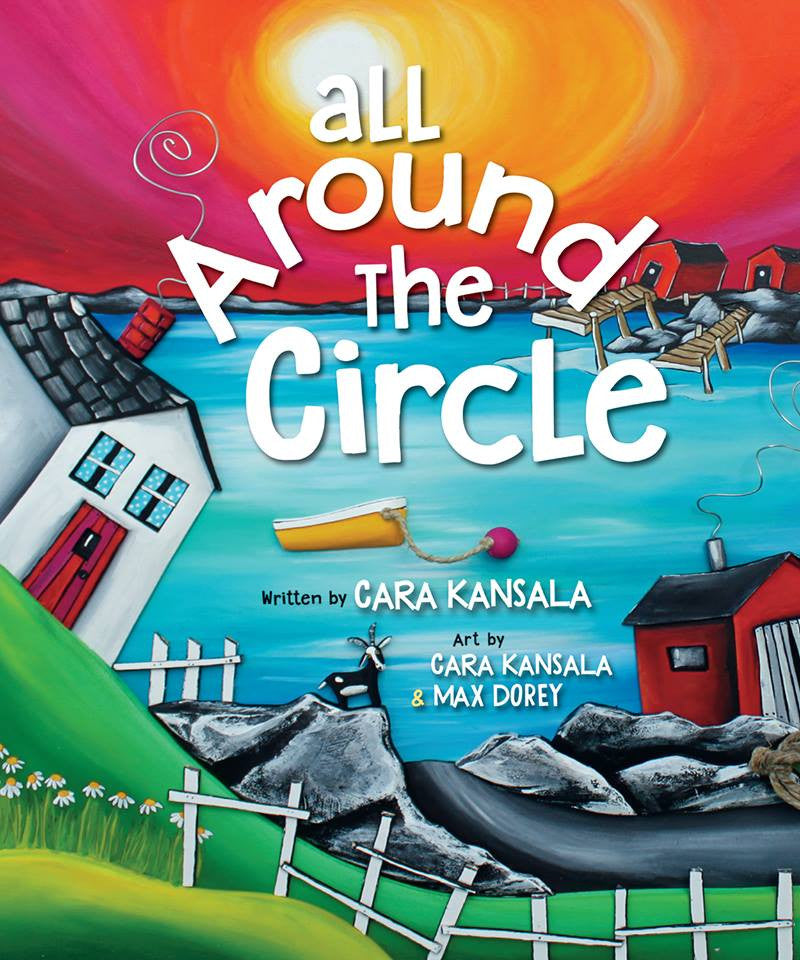 New Book! ALL AROUND THE CIRCLE