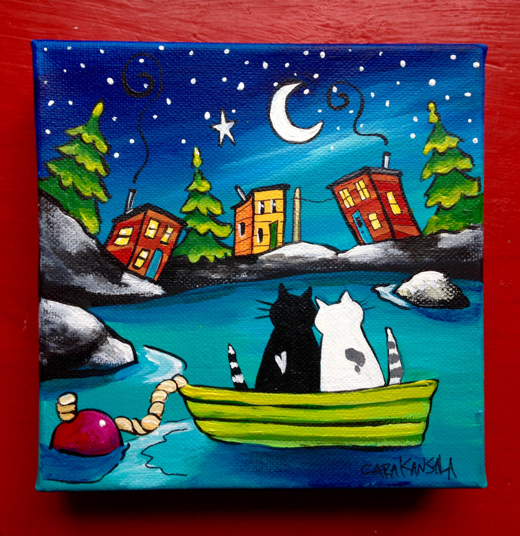 (SOLD)Drifting Together, We'll Sail through the Stars
