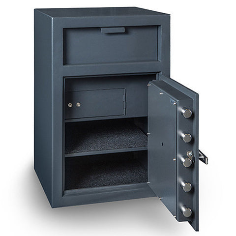 Hollon FD-3020CILK Depository Safe With Inner Locking Department-Gun Safe & Vault Store
