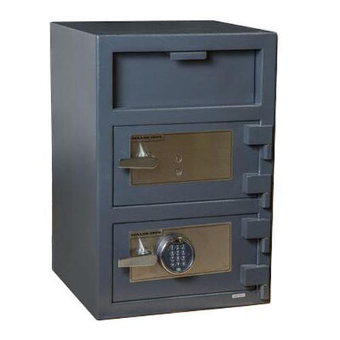 Hollon FDD-3020EK Double Door Depository Safe-Gun Safe & Vault Store