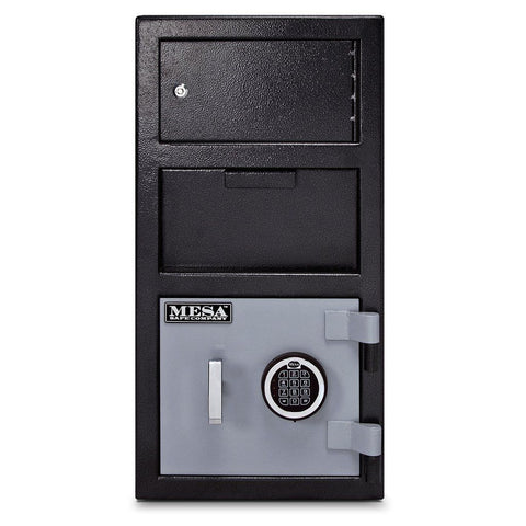 Mesa MFL2014E-OLK Depository Safe with Outer Locker and Electronic Lock-Gun Safe & Vault Store