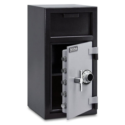 Mesa MFL2714C B-Rate Depository Safe - 1.4 Cu Ft-Gun Safe & Vault Store