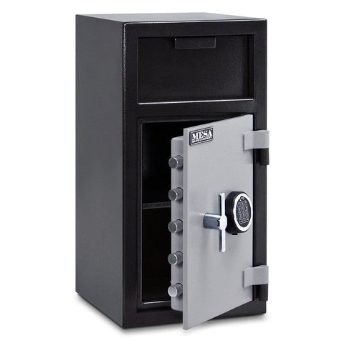Mesa MFL2714E B-Rate Depository Safe - 1.4 Cu Ft-Gun Safe & Vault Store