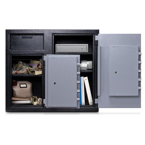 Mesa MFL2731CC Dual Compartment Side by Side Deposit Safe - 6.7 Cu Ft-Gun Safe & Vault Store