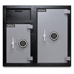Mesa MFL2731EE Dual Compartment Side by Side Deposit Safe - 6.7 Cu Ft-Gun Safe & Vault Store