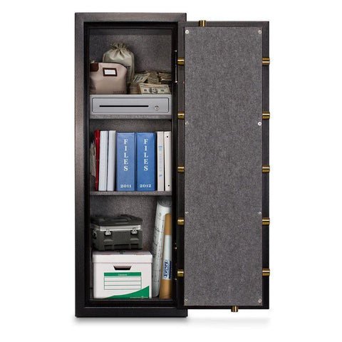 Mesa Safes MBF5922C-P Burglary & Fire Gun Safe with Combination Lock-Gun Safe & Vault Store
