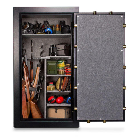 Mesa Safes MBF6032C Burglary & Fire Gun Safe with Combination Lock-Gun Safe & Vault Store