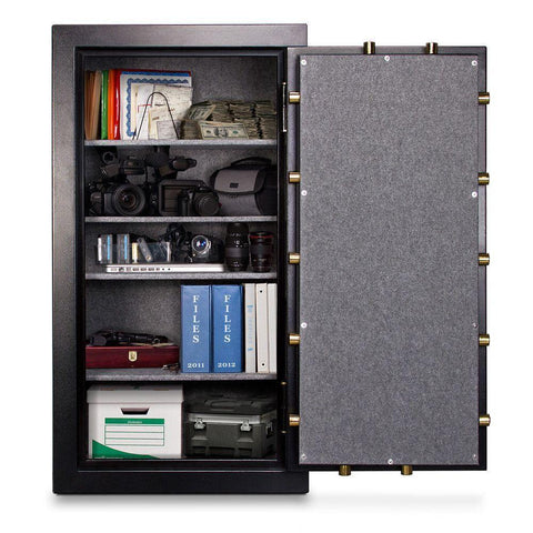 Mesa Safes MBF6032C-P Burglary & Fire Gun Safe with Combination Lock-Gun Safe & Vault Store