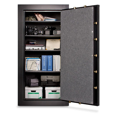 Mesa Safes MBF7236C-P Burglary & Fire Gun Safe with Combination Lock-Gun Safe & Vault Store