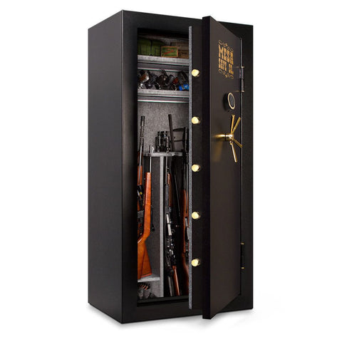 Mesa Safes MBF7236E Burglary & Fire Gun Safe with Electronic Lock-Gun Safe & Vault Store