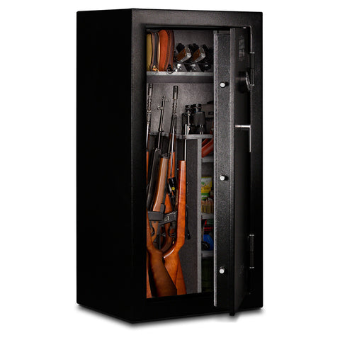 Mesa Safes MGL24E-AS 30 Minutes Fire Rated Gun Safe with Digital Lock-Gun Safe & Vault Store