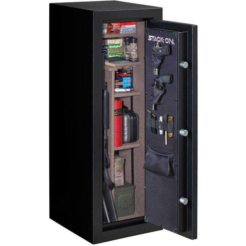 Stack-On A-18-MB-E-S Armorguard 18 Gun Safe with Electronic Lock-Gun Safe & Vault Store