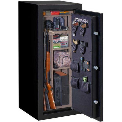 Stack-On A-24-MB-E-S Armorguard 24 Gun Safe with Electronic Lock-Gun Safe & Vault Store