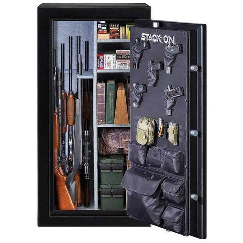 Stack-On Gun Safe E-30-MB-E-S 30 Gun Cap. Electronic Lock-Gun Safe & Vault Store