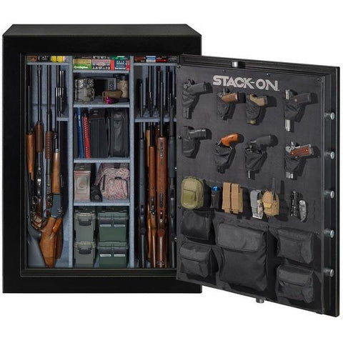 Stack-On Gun Safe E-69-MG-C-S 69 Gun Cap. Combination Lock-Gun Safe & Vault Store