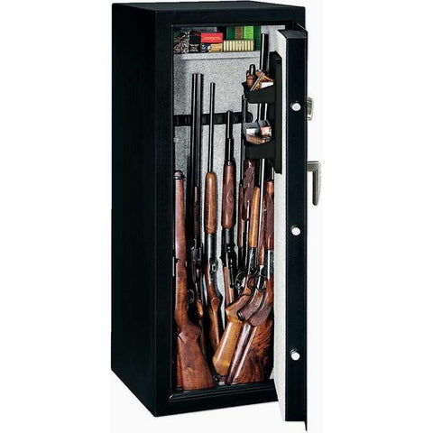 Stack-On SS-16-MB-B 16-Gun Gun Security Safe Biometric Lock-Gun Safe & Vault Store