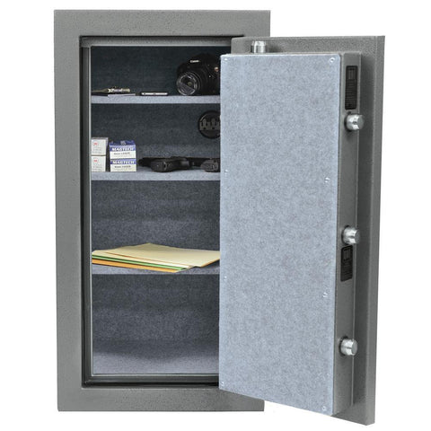 Stack-On TD-040-GP-E Total Defense Executive Gun Safe with Electronic Lock, Gray Pebble-Gun Safe & Vault Store