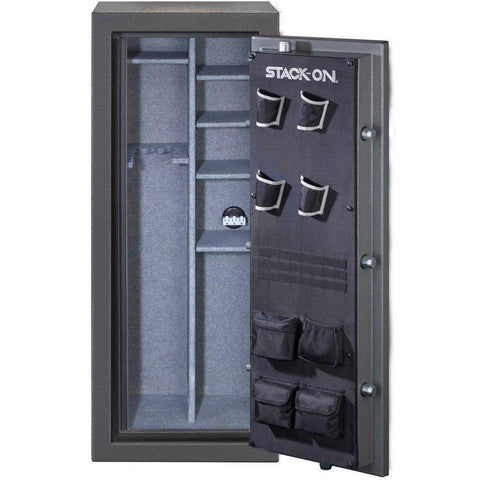 Stack-on TD-24-SB-C-S 22-24 Gun with Combination Lock, Gray Pebble-Gun Safe & Vault Store